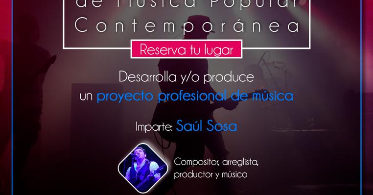 Curso de Composición y Producción de Música Popular Contemporánea