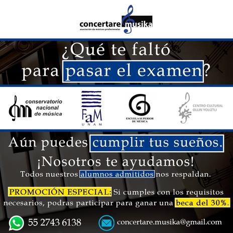 Escuelas superiores de Música y Conservatorios del Interior de la República.