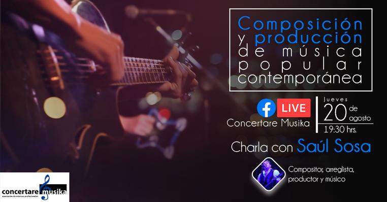 Composición y Producción de Música Popular Contemporánea