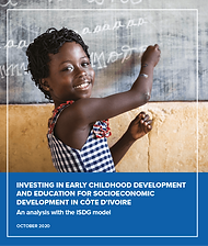 INVESTING IN EARLY CHILDHOOD DEVELOPMENT AND EDUCATION FOR SOCIOECONOMIC DEVELOPMENT IN CÔTE D'IVOIRE