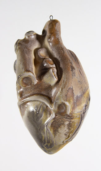 Wood fired Anatomical Heart