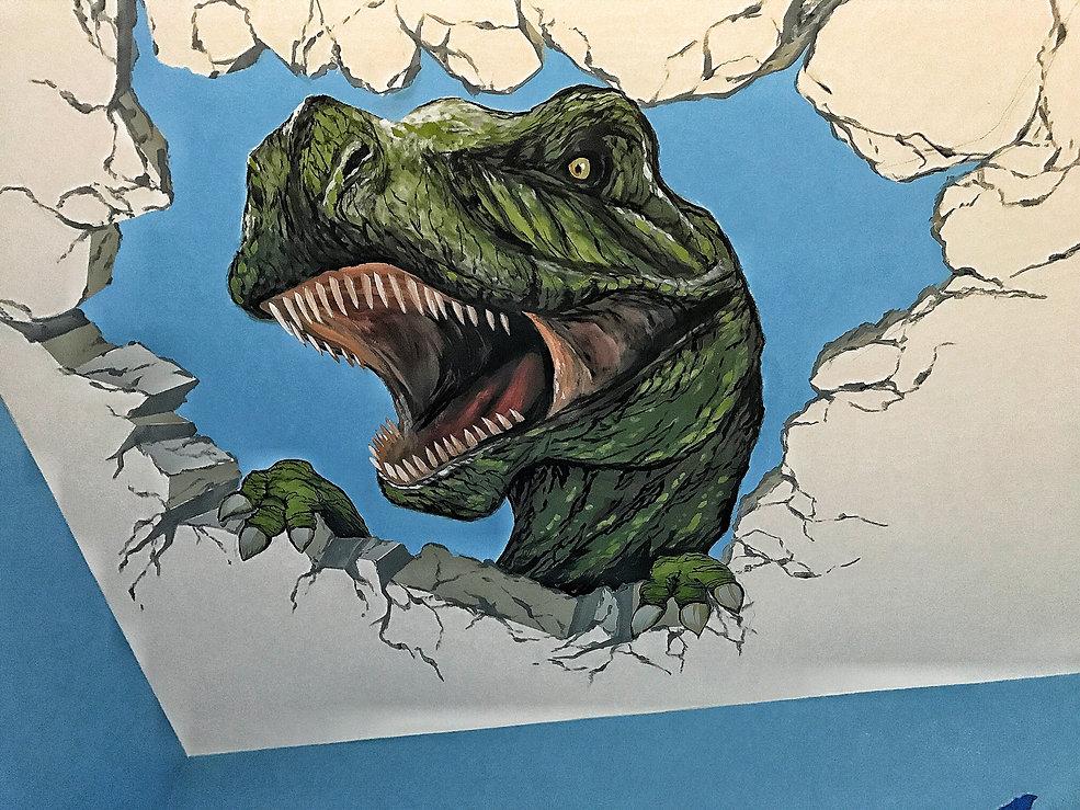T-Rex Mural