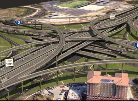 Loop 1604 will be 10 lanes wide, and TxDOT wants you to see the plans