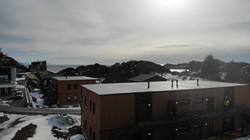 Dronefoto utsikt mot sør