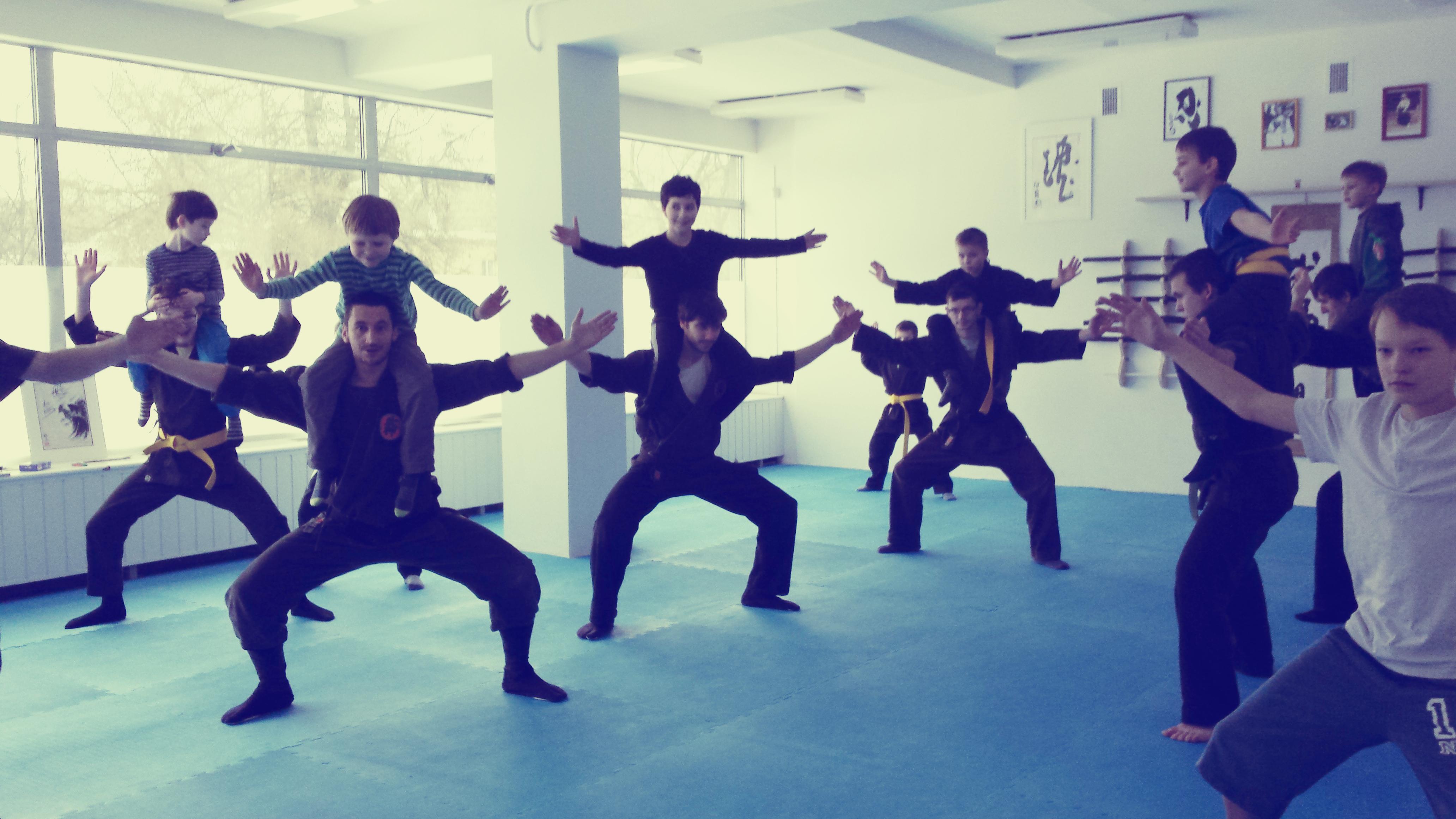 Ninja vaikai
