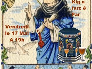 YCRB - SOIREE de la ST YVES le Vendredi 17 Mai