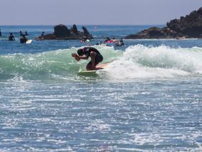 Surfe em Malibu, CA
