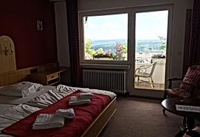 Driepersoonskamer met balkon