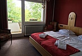 Luxe tweepersoonskamer met balkon