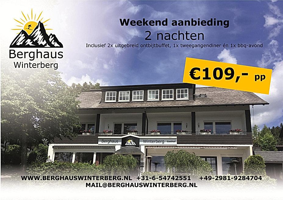 Weekend Actie Aanbieding Weekend weg Zomer Wandelen Arrangement