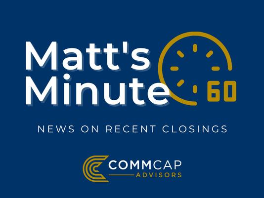 Matt's Minute- Tenaya Medical Center