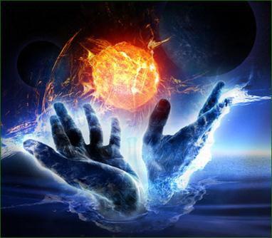 """L'énergie du """"Tout"""" passe par les mains ..."""