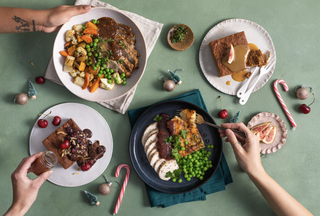 Christmas feast sorted with no prep OR mess to clean up