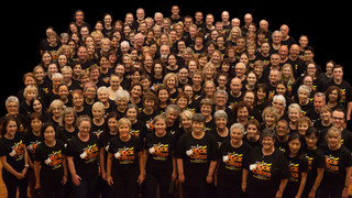 QPAC Choir gets ready to rock