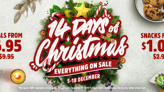 Youfoodz is running a MASSIVE Christmas Sale