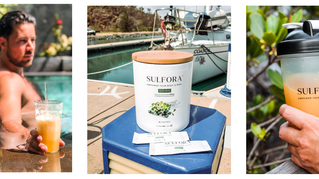 Sulfora - The original broccoli sprout powder sachet designed to help body & mind.