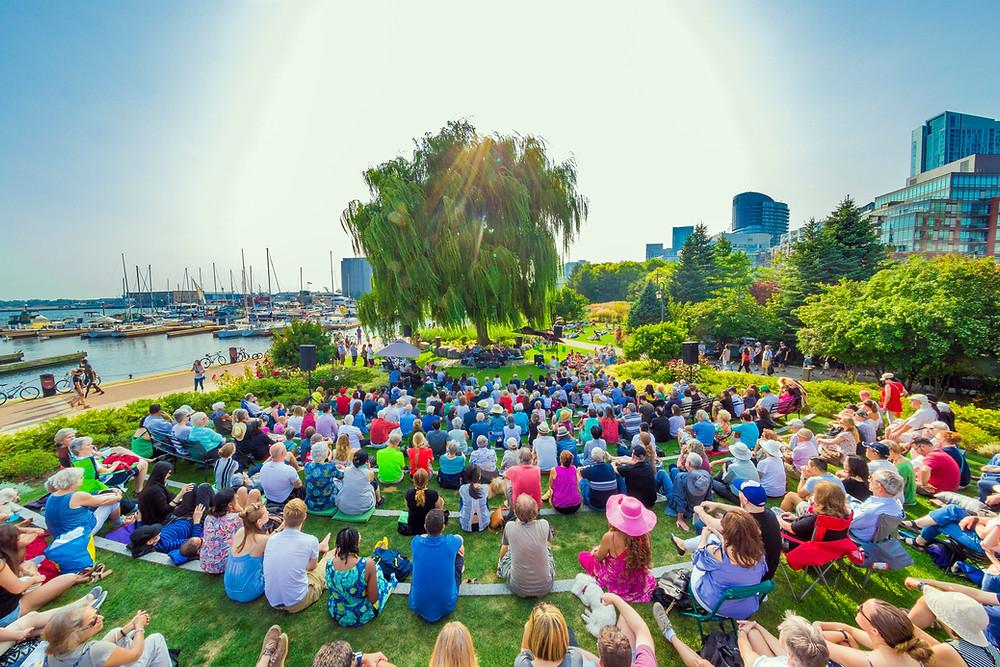 Harbourfront Centre Summer Music Garden 2019