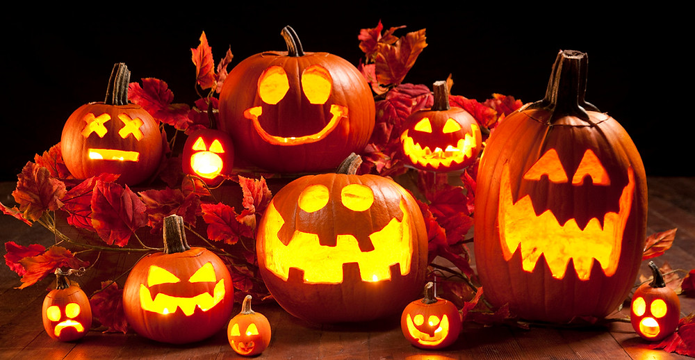 hallowee, zucche