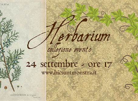 Herbarium: nuovo evento UP