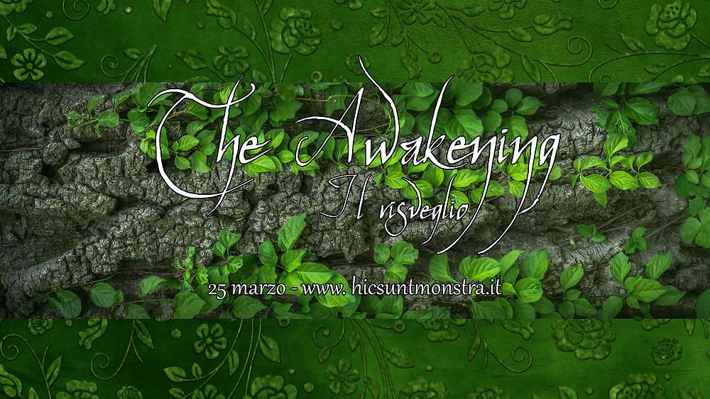 copertina evento The Awakening con rami e foglie