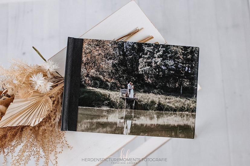 Dein Hochzeitsbuch mit einem Acrylcover & Leder