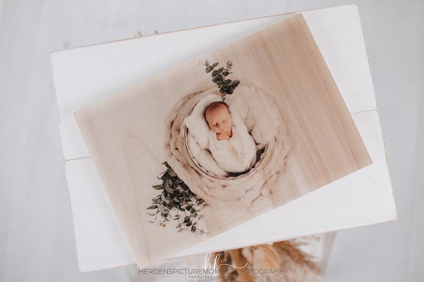 Dein Bild auf Holz in 30x20