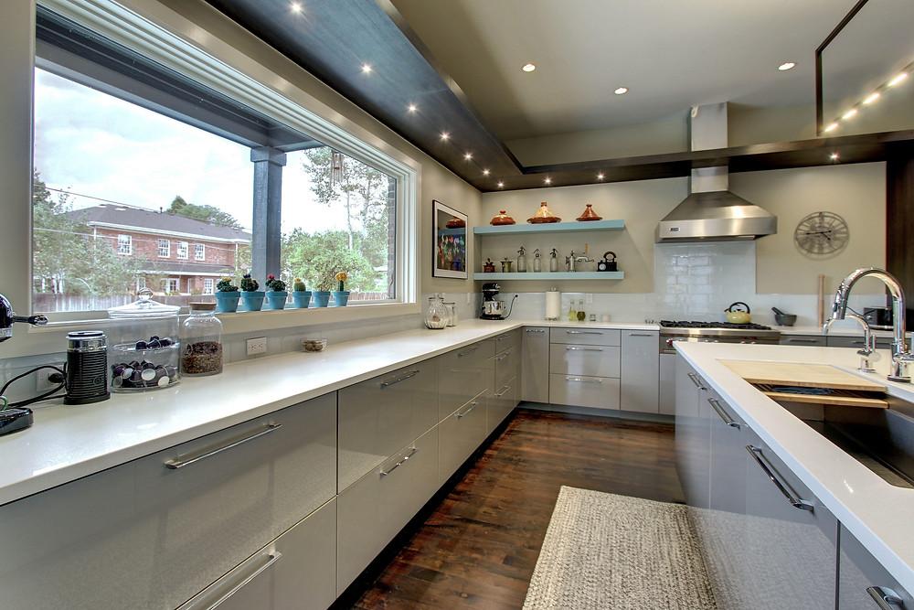 Denver kitchen remodel with oven vent