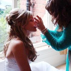 bridal hair and makeup, wedding hairup, makeup, Airbrushing