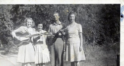 Mae's Grandparents & Aunt Lilly