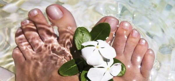 Een verzorging en verwen moment voor uw voeten