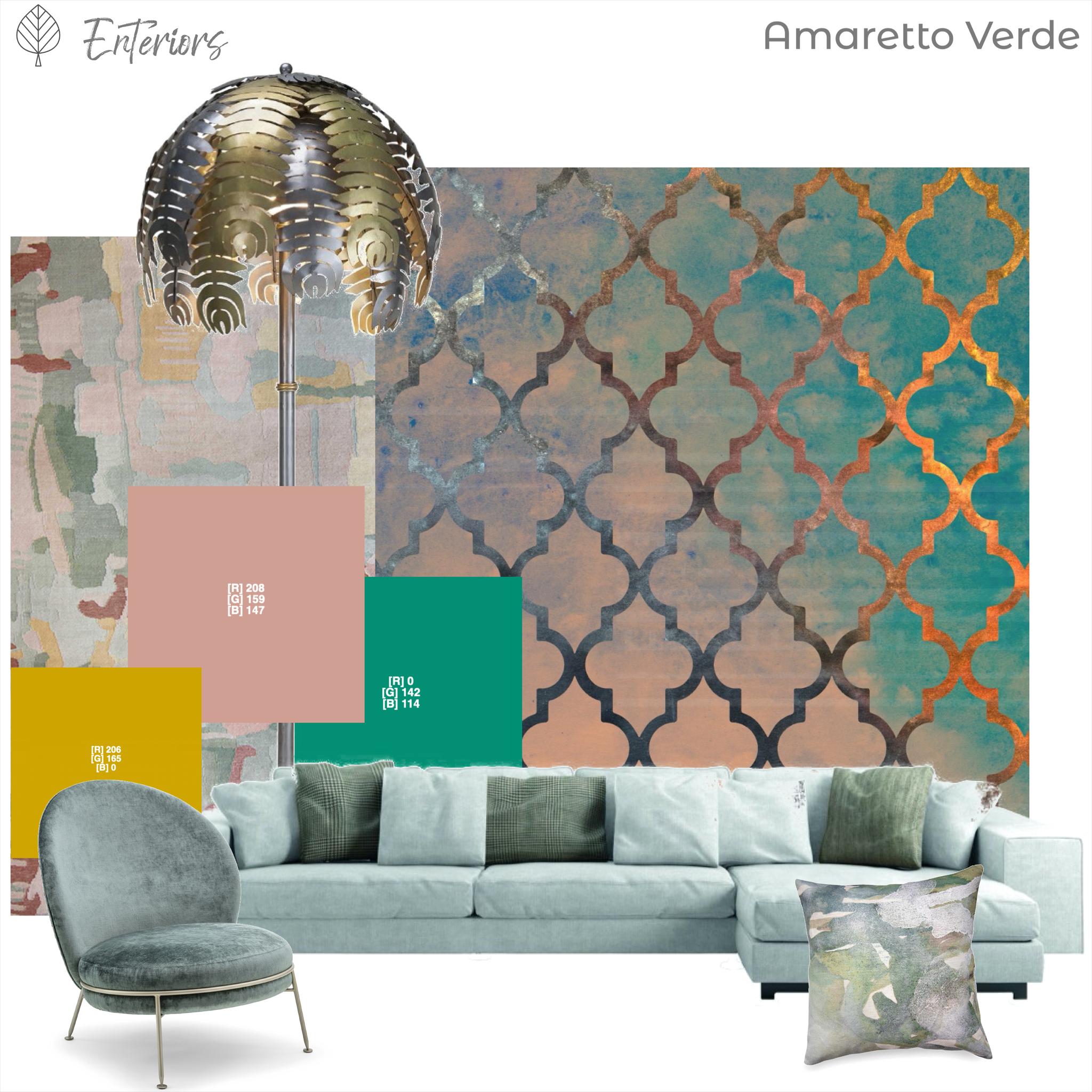 Style Board – Amaretto Verde