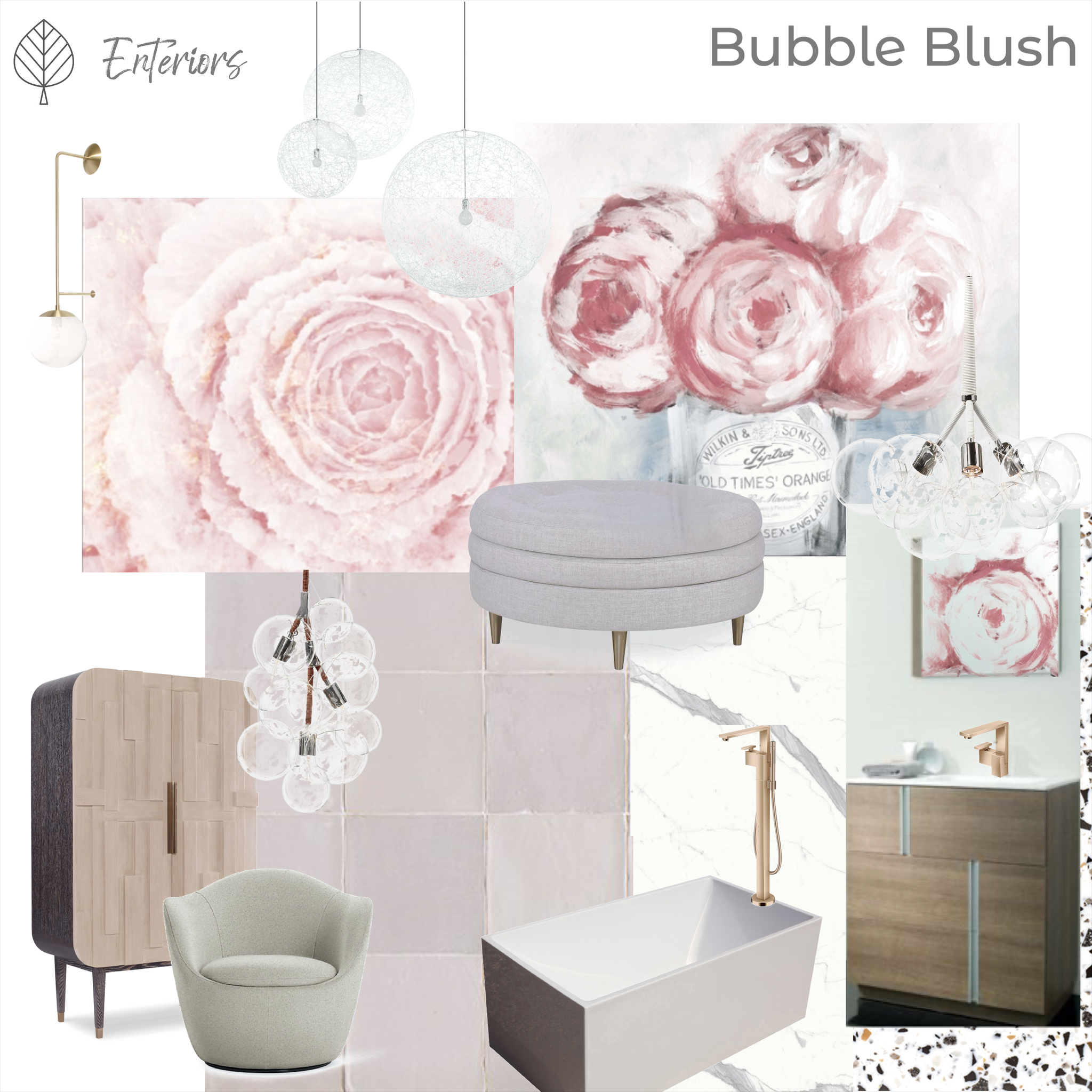 Style Board – Bubble Blush