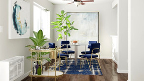 A Touch of Glam Dining Room