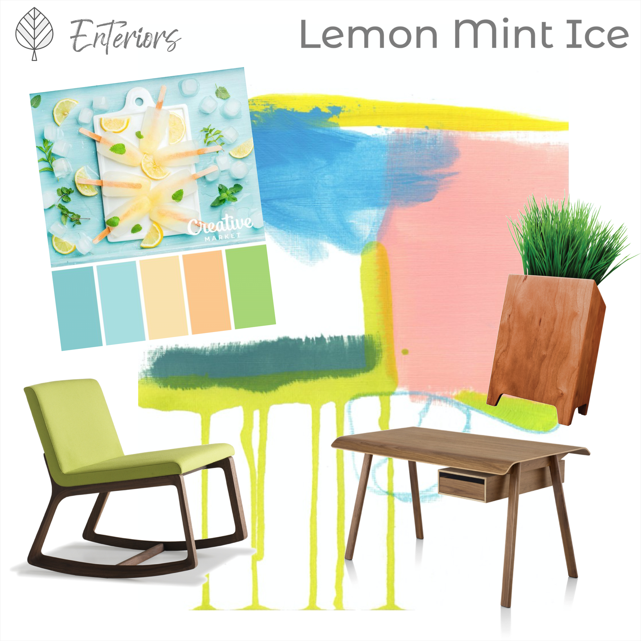 Style Board – Lemon Mint Ice