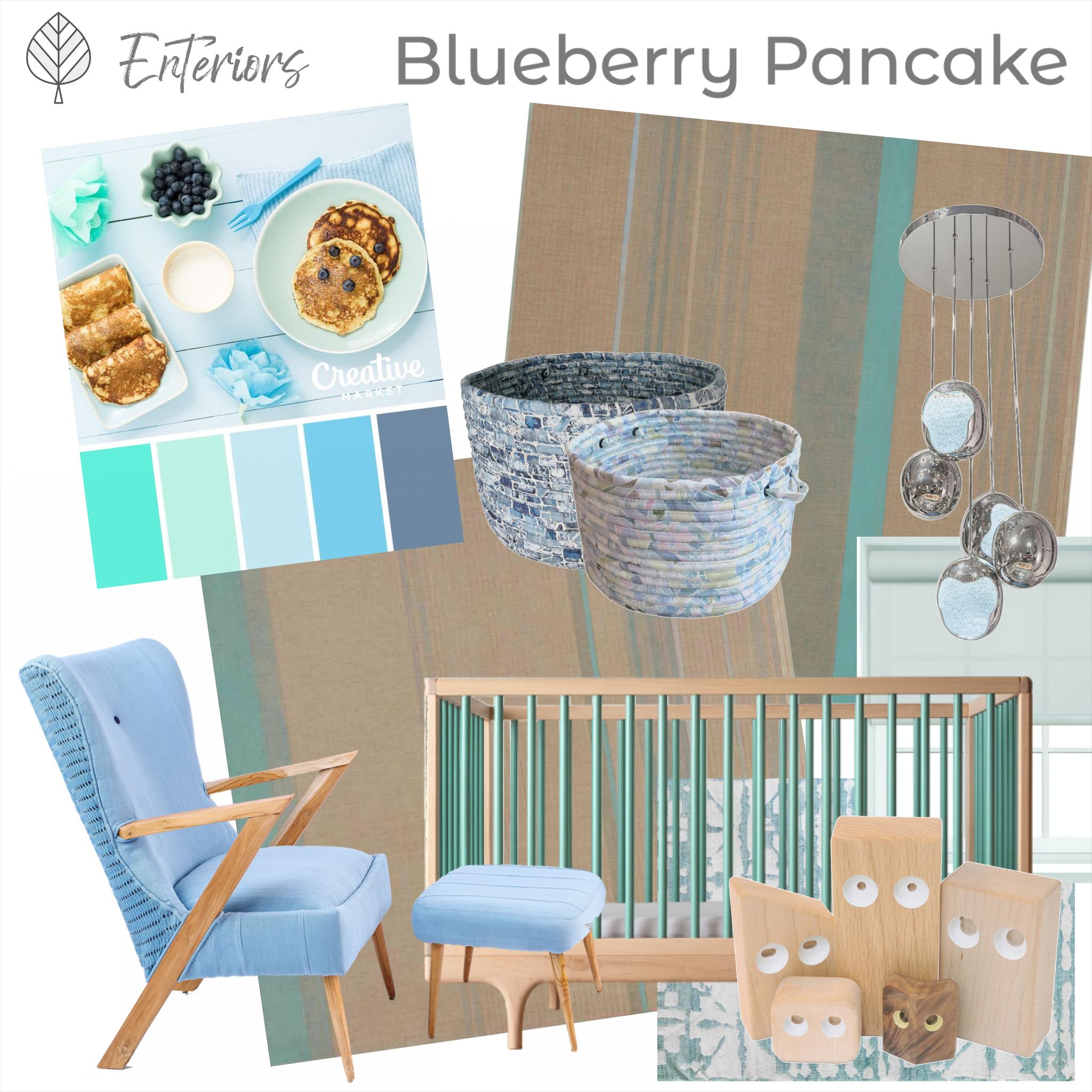 Style Board - Blueberry Pancake