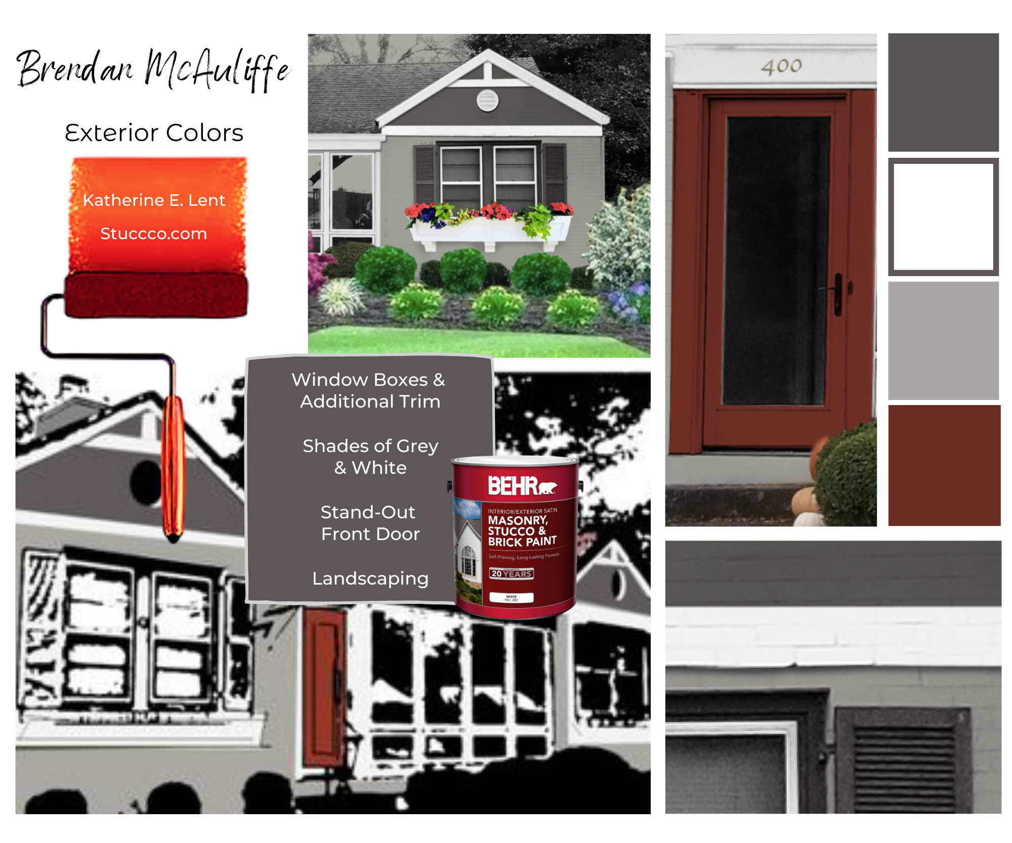 Style Board – Exterior Colors
