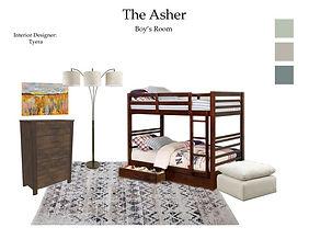 AsherBoysRm-Complete Room Design