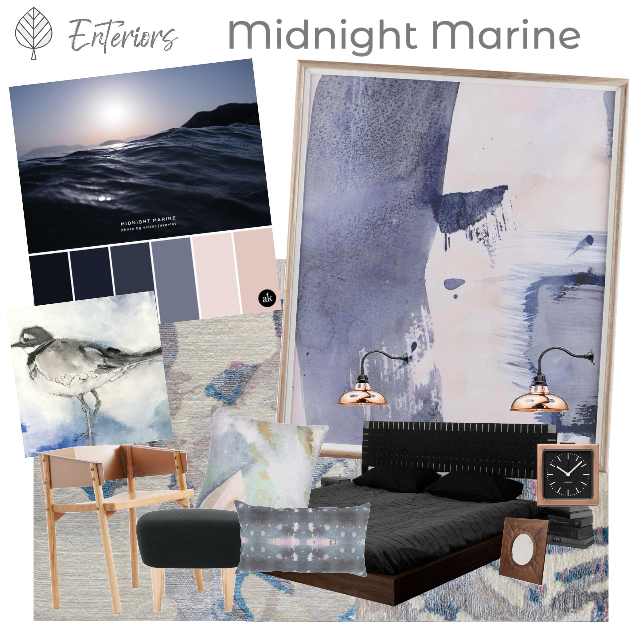 Style Board – Midnight Marine