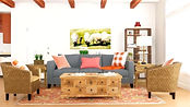 Rustic Living RoomRustic