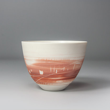 Small cup/bowl. Peachy