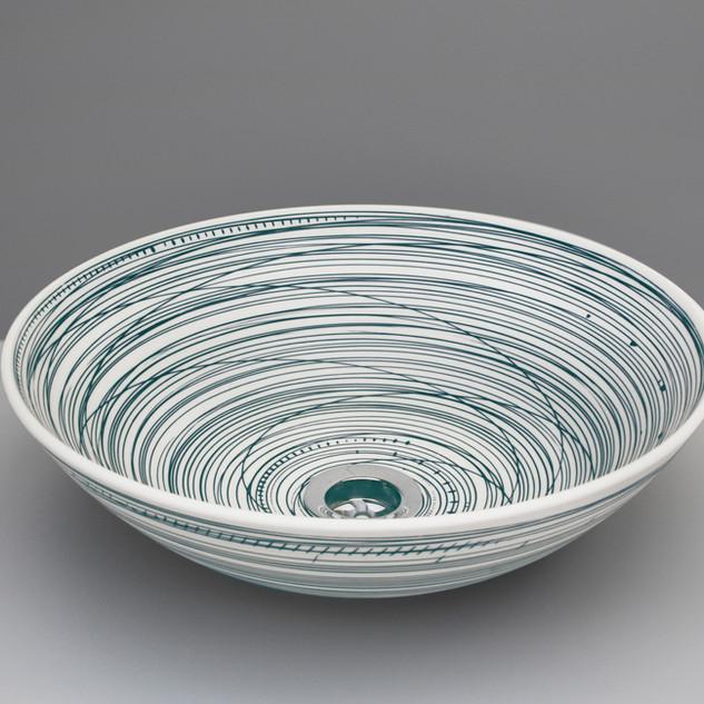 Blue Lines basin. £650