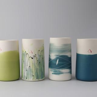 4 x teal lime tall cups.jpg