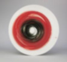 Platter. Red & black. Diam 33cm.jpg