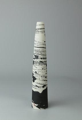 Stem vase tapered. Birch