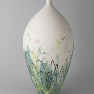 Bottle vase. Monoprint.jpg