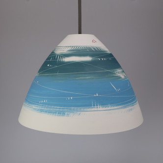 LIGHTS. Lg conical Teal & turquoise.jpg