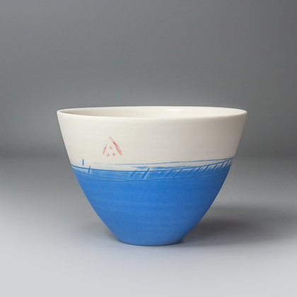 Small cup/bowl. French blue