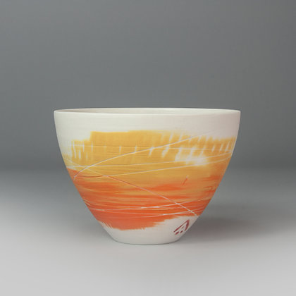 Small cup/bowl. Citrus