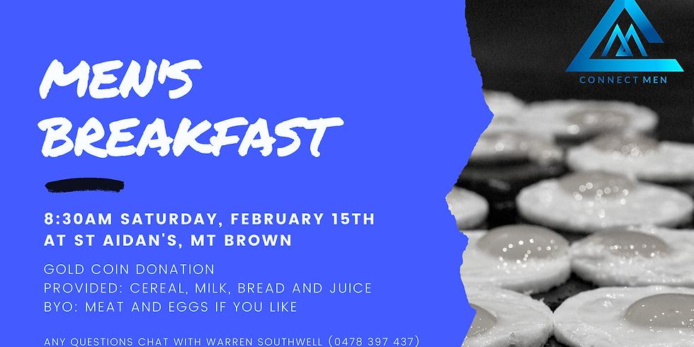 Connect Men's Breakfast February