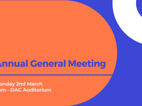 THE AGM IS TOMORROW